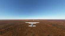 Final Runway 24, Mungo Lodge