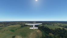 Final runway 26, Great Lakes Airfield