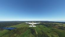 Final, runway 27, Icena at Musselroe
